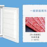 ペットフード用の-60℃超低温冷凍庫